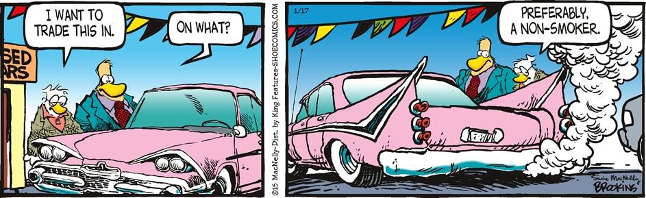 Car Comic Strip